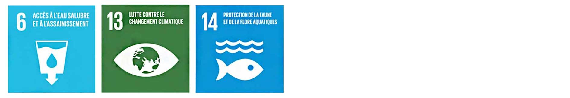Objectifs de développement durable 2030 liés au thème eau