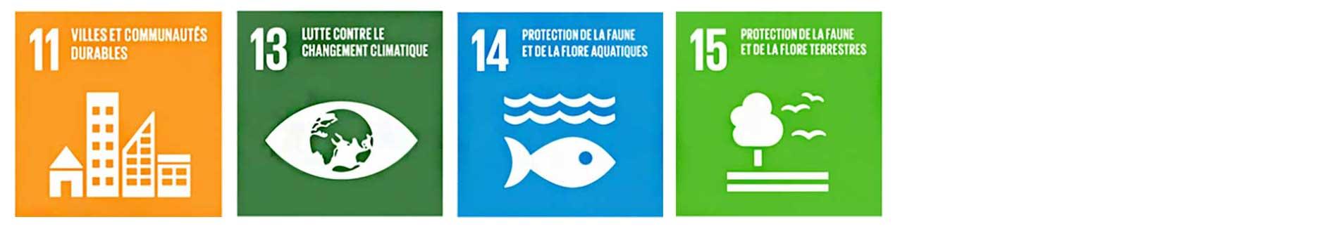 Objectifs de développement durable 2030 liés au thème déchets